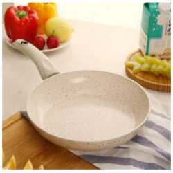 Антипригарная сковорода белая