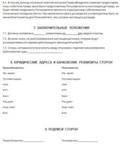 Договор коммерческой концессии (франчайзинг) 4